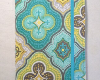 Kindle cover Hardcover, Kindle Paperwhite Cover, iPad Mini, Nook Tablet Cover,  Book Style, Turquoise Dream
