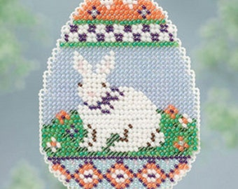 MILL HILL Spring Collection - Bunny Egg - Counted Cross Stitch Kit