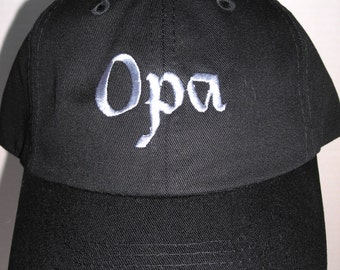 Opa Embroidery Base Ball Cap