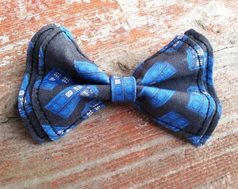 Boys Bow Tie - Doctor Who TARDIS Bow Tie - Doctor Who Baby - Bow Ties Toddler - Doctor Who - Police Box Bow Tie - Gift Ideas for Geeks