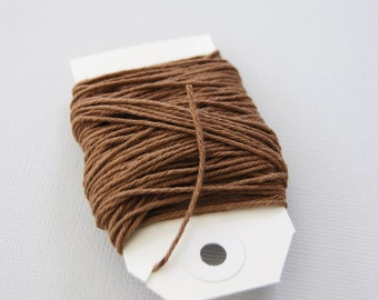 Solid Brown Twine 15 yards