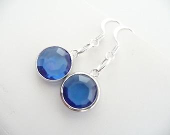 The Serena Blue Earrings