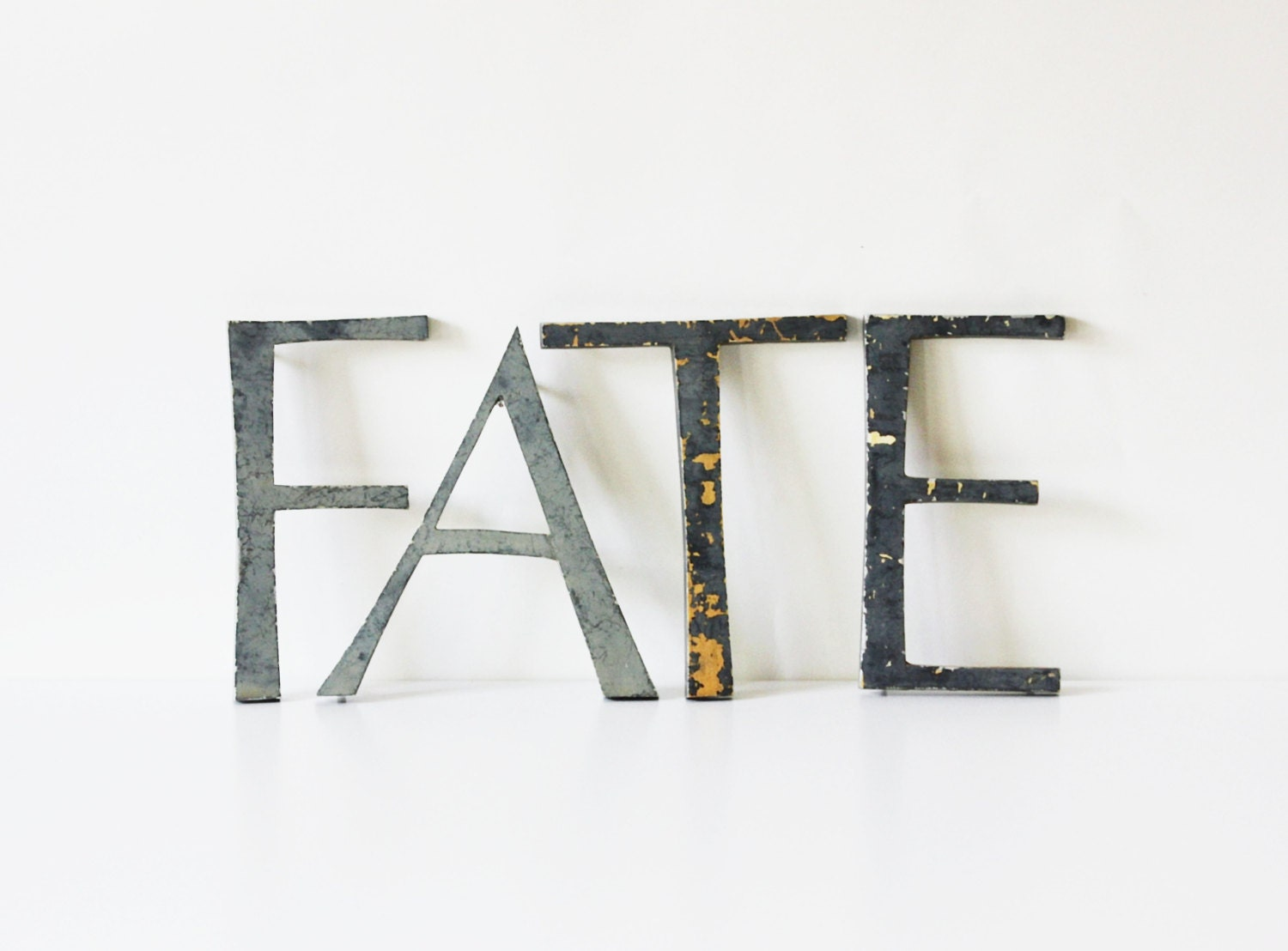 It39s your fate vintage large marquee letters by becaruns for Large vintage marquee letters