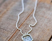 SALE! Choose Joy Charm and Necklace Inspirational Silver Jewelry