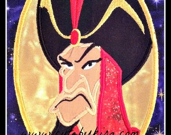 Jafar Applique Embroidery Design
