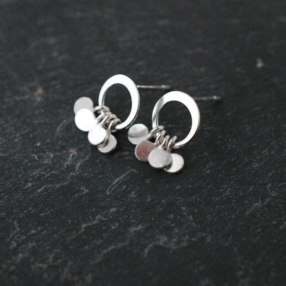 Baby Silver hammered sparkles