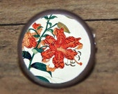 TIGER LILY Cuff links or Tie tack or Pendant or Brooch or Ring