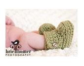 ON SALE Baby Booties, Baby Boots, Baby Ugg Boots, Crochet Baby Booties