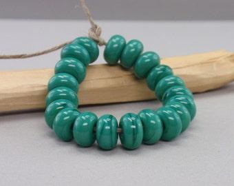 25 % off - 20 Spacer - Handmade Lampwork Beads - S 45