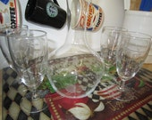 Princess House Wine Carafe and Glass Set