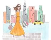 Custom Website/Blog Illustration