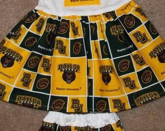 Baylor Bears Infant Dress Set