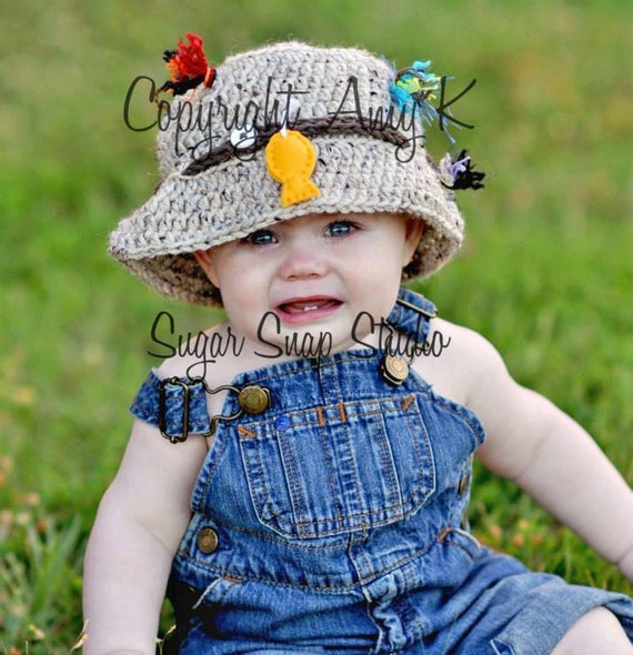 bucket fishing hat baby boy hats photography prop newborn