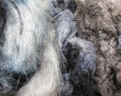 Python - Hand Dyed MEGA Silk and Sparkle Fiber Kit