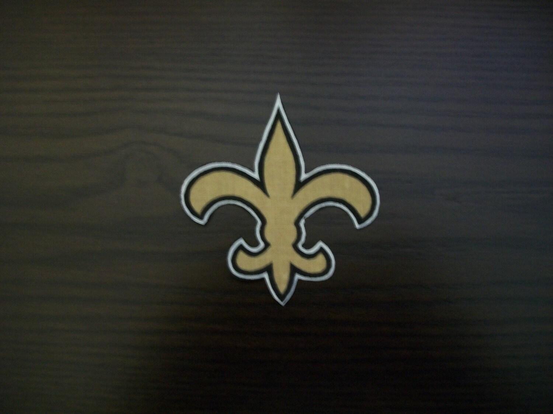 The New Orleans Saints Fleur De Lis Iron On By Crazyforbetty