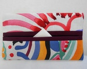 HOLIDAY SALE - Talavera Swirl Tissue Cozy/Gift Card Holder/Party Favor/Wedding Favor