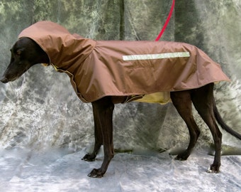 Greyhound Raincoat, brown, large