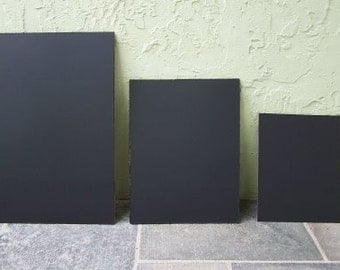 I MEDIUM 16x20 inches frameless blackboard  Unframed Chalkboard fits in a standard size frame