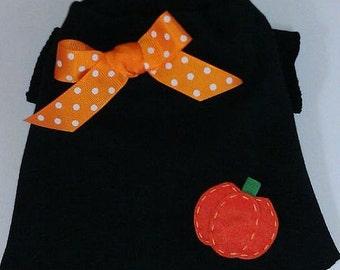 Thanksgiving Pumpkin TShirt Clothes Size XXXS through Medium by Doogie Couture