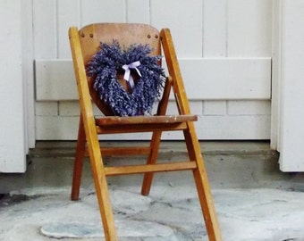 Vintage Folding Chair Child Size