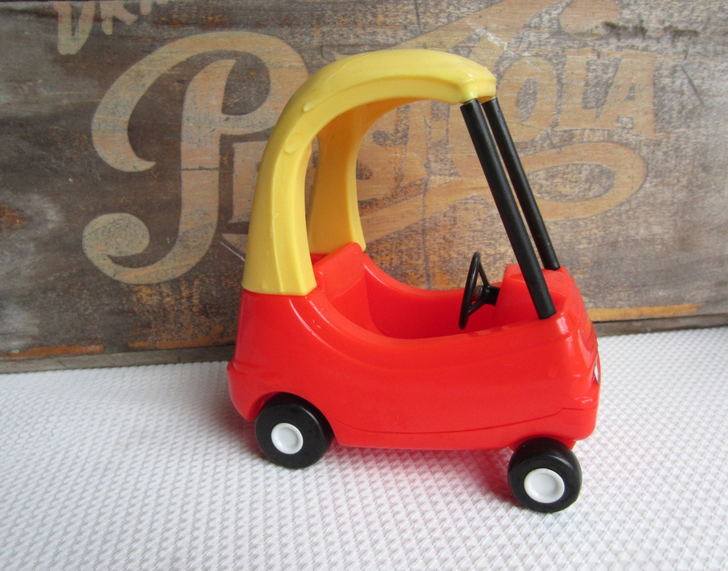 Vintage Little Tikes Cozy Coupe Toy Car