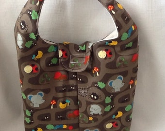 Insulated Lunch Bag - Underground Critters