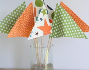 Party Pennants Set of 6
