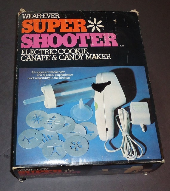 Wear Ever Wearever Electric Cookie Canape Super Shooter Cooky