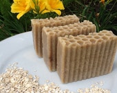 Goat milk, Oatmeal and Honey Soap Made with Cinnamon Essential Oil UGLY SALE