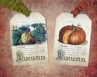 Tags - Autumn - Fall - Seasonal Tags