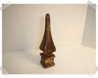 Cast Iron Finial/ Painted/Craft Supplies*