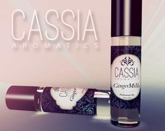 Gingermilk Oil Perfume a Spicy Floriental