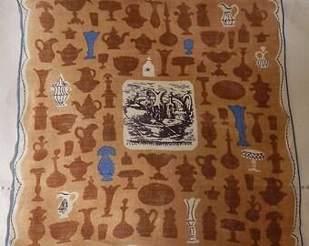 """Vintage Hankie/Hanky Tammis S. Keefe,SALE, Vases and Urns: """"Still Life"""""""