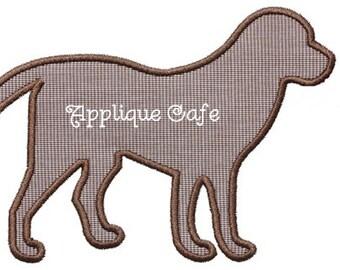 052 Dog Machine Embroidery Applique Design
