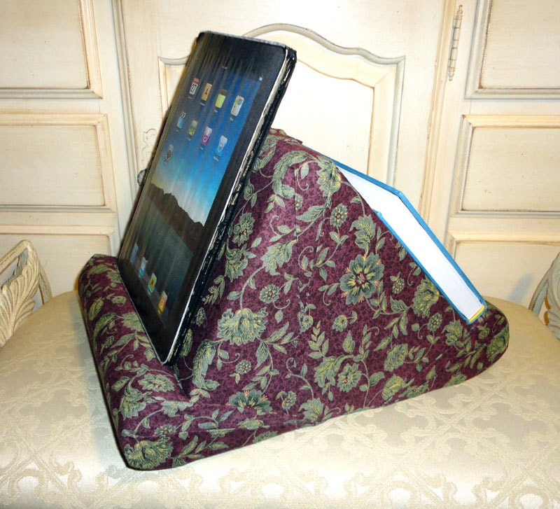 Soft Lap Book And Tablet Reading Pillow Two Sides For Two