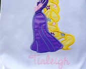 Personalized Rapunzel Shirt