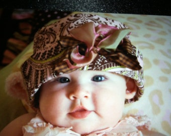 Sweetpea Vintage Baby Hats...Size 0 to 1 years and up