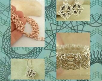 Celtic Labyrinth Earrings, Bracelet or Necklace pdf - Expert Tutorial