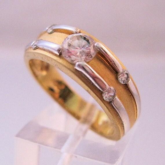 rsc 18kt ge 3 4ct cubic zirconia wedding by