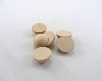 "Split wooden ball 1 1/2"" set of 6"