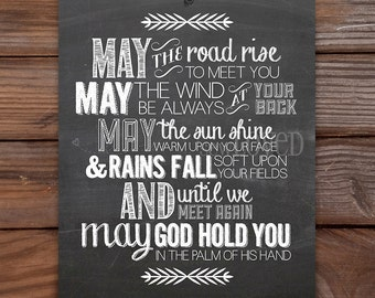 Irish Blessing (8x10)