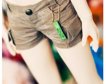 SD 13 Girl Cargo Hot pants Beige