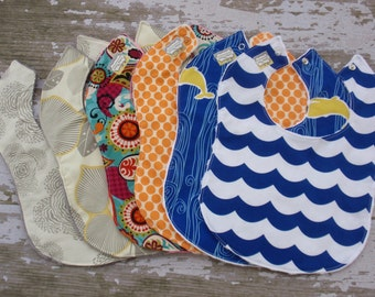 The Couture Mama Large Bib- YOU Choose One, Triple Layered Design