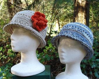 Openwork Cloche Hats – PA-115 - Crochet Pattern PDF