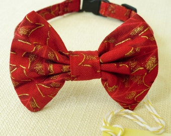 Bow Tie Collar For Cat or Small Dog for the Holidays