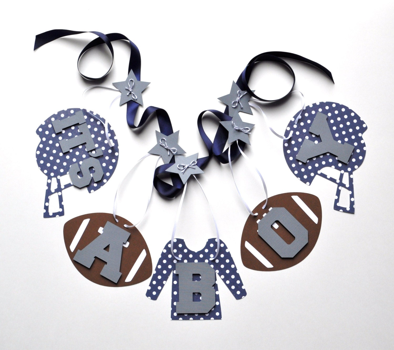 football baby shower decorations blue and grey it 39 s a boy