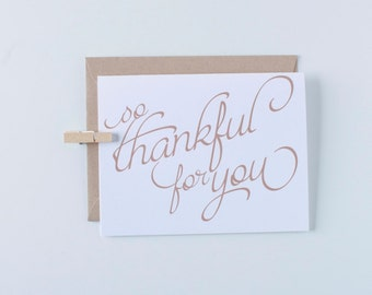 Box of 8 Happy Thanksgiving Greeting Card