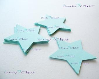 """90 Stars Tag Size 2"""" -Stars die cuts -Paper Start tags -Cardstock Stars die cuts -Paper Stars labels -Paper tags -Custom Stars die cut"""