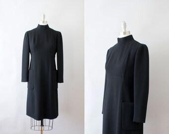 Final Sale // 1960s Geoffrey Beene dress / vintage 60s mod designer dress / The Architect