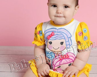 D0LL Hand painted infant baby size 3mth, 6mth, 12mth, 18mth, 24mth ETSYKIDS Boutique custom